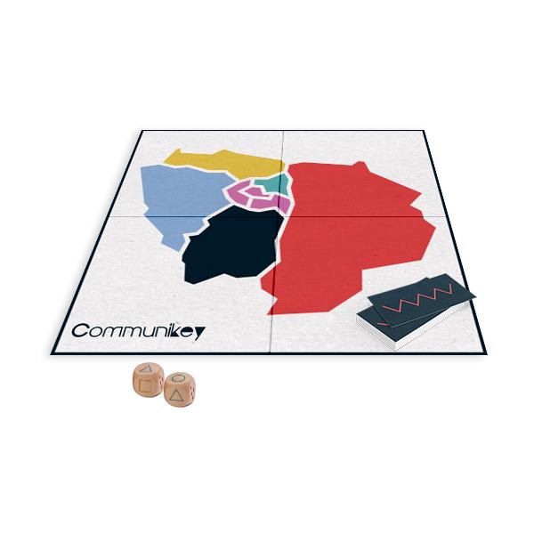 Carte Ile de France Communikey