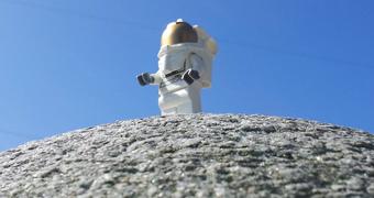 Lego astronaute